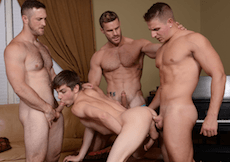 Houseboy – Part 3 – Daddy/Boy Gangbang With Johnny Rapid