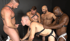 Monster Cock Gangbang – Adam Russo, Cutler X, Shay Michaels and more!