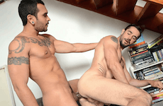 Big Dick Latino Pups – Lucio Saints & Dean Monroe