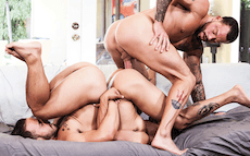 Bareback Threesome – Armond Rizzo, Rafael Lords & Sean Duran