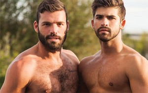 Hairy, Bearded Hunks – Xavier Jacobs & Jonah Fontana
