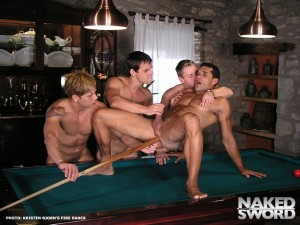 Fire Dance – Chateau Orgy with Juan Jimenez and Carlos Montenegro