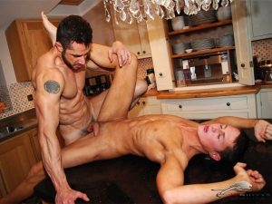 Hot & Cold – Hot Cock in the Kitchen