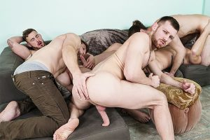 My Whore Of A Roommate – Trevor Long, Colby Keller, Paul Canon, Jacob Peterson, Roman Cage