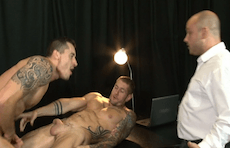 In The Dog House – The Gay Office – Jay Roberts & Harley Everett