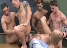 Orgy at School – Fucking The Teacher