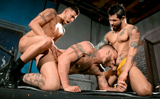 Draven Torres' Rough Threesome