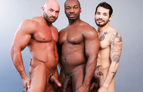 Next Door Ebony – Muscle Bear Threesome