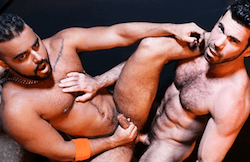 Backroom Tease – Rough Muscle Hunks, Billy Santoro & Tony Orion