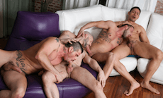 Men in the City 2 – Intense Rapport: Antonio Miracle, Mario Domenech, John Rodriguez & Rainer