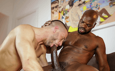 Fucked By A Black Monster Cock For Christmas- Cutler X & Tony Axel