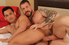 Monster Cock Daddy Teaches A Lesson – Rocco Steele & Eli Lewis