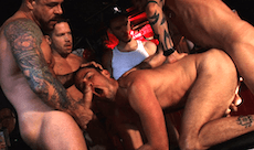 Flooded – Gangbang At The Club
