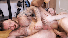 Muscle Giant Fucked By A Monster Cock – Tim Kruger & Dominique Hansson