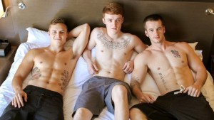 Six Pack Jocks Threesome