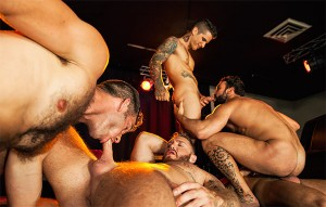 Thirst – Part 4 – Jimmy Fanz, Pierre Fitch, Damien Crosse, Abraham Al Malek, Dominique Hansson