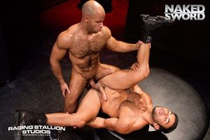 Hairy Sean Zevran Rough Fucks Dorian Ferro