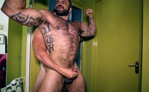 Rogan Richards + a mirror and his partner