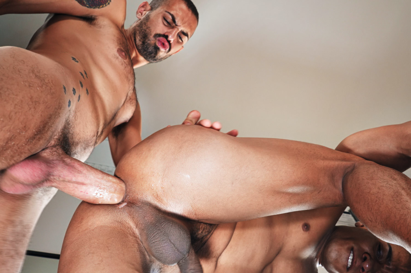 gay group of black men raw bareback white cum dump porn
